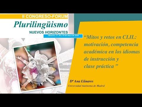 Intervención de Ana Llinares. Universidad Autónoma de Madrid