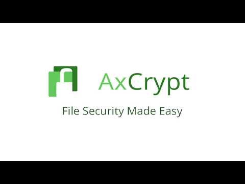 How to Use AxCrypt