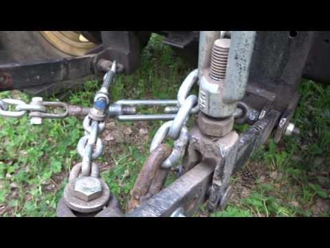 Как сделать навеску на самодельный трактор