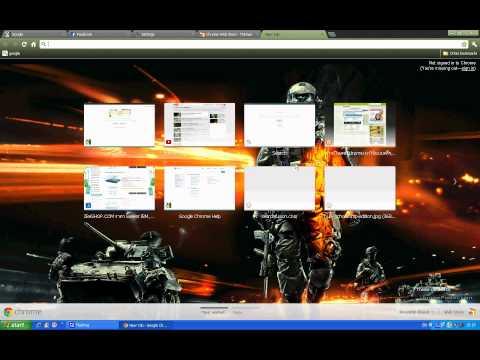 FG:สอนทำภาพ Google Chrome