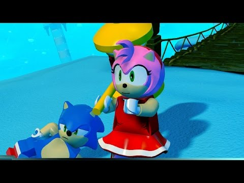 Lego Dimensions - Sonic Pack DLC - Amy's Quest, Rose to the Rescue