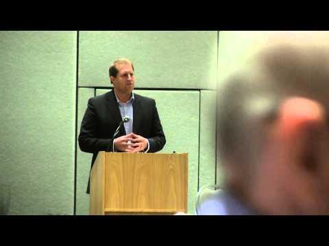 Matt Schmit introduces legislative panel Image