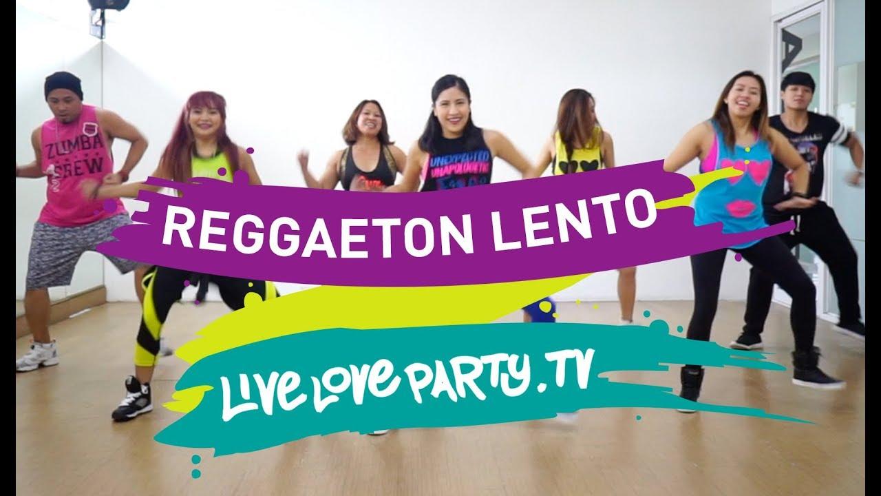 Reggaeton Lento | Zumba® | Live Love Party