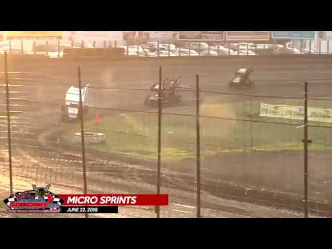 Micro Sprints - River Cities Speedway - 06/22/18