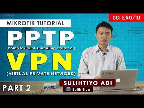 PPTP - VPN MIKROTIK TUTORIAL [ENG SUB]