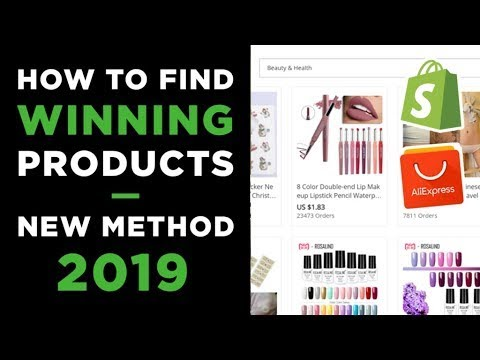 EASIEST WAY TO FIND HOT WINNING PRODUCTS IN 2019 (Shopify Dropshipping) thumbnail