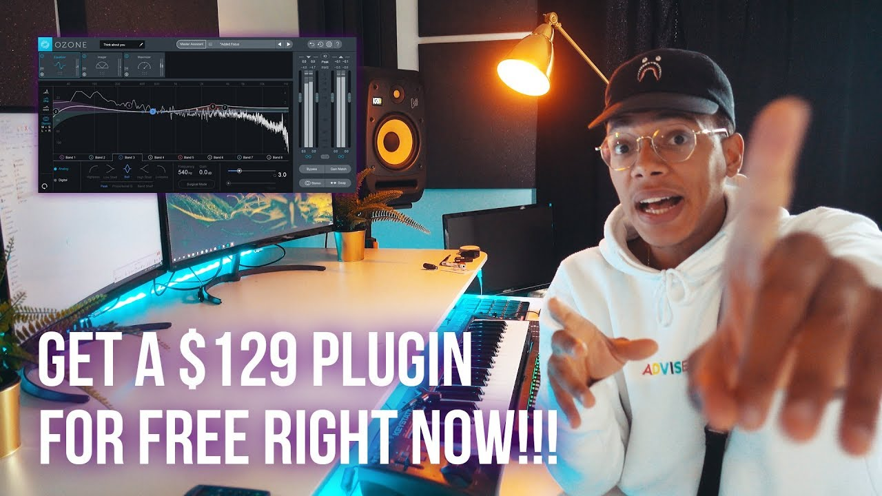 HOW TO MASTER BEATS WITH THIS FREE PLUGIN FOR FL STUDIO 12!!! (Ozone  Elements Plugin Review)