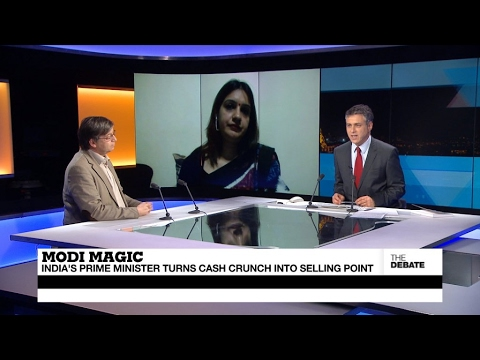 Modi magic: India's PM turns cash crunch into selling point (part 1)