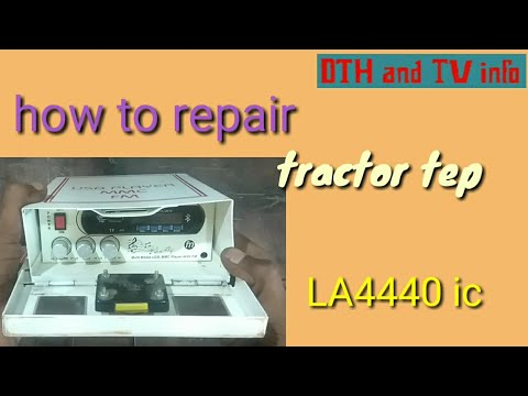 how to repair Tractor & car  tep USB/MP3/FM/PAYER  Part 1 (Hindi) टेक्टर टेप रिपेयर