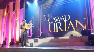 URIAN 2013 - Nora Aunor wins Best Actress Award