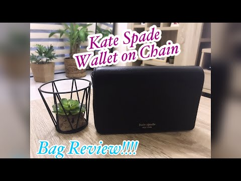 Kate Spade Wallet on Chain Bag Review