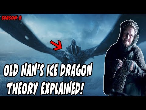 Old Nan's Ice Dragon Theory EXPLAINED Game Of Thrones Season 8