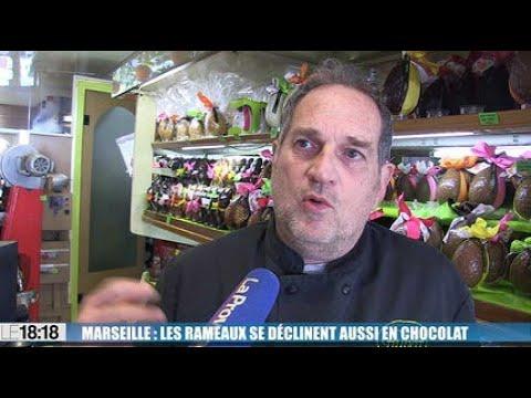 Marseille : les rameaux se déclinent aussi en chocolat