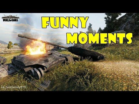 World of Tanks - Funny Moments | Week 1 November 2017 thumbnail