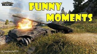 World of Tanks - Funny Moments   Week 1 November 2017