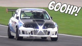 600HP Subaru WRX STI by J-Spec Perf! - OnBoard PORN SOUND on Wet Track!