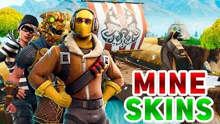 MY SKINS in FORTNITE-Fortnite Battle Royale English