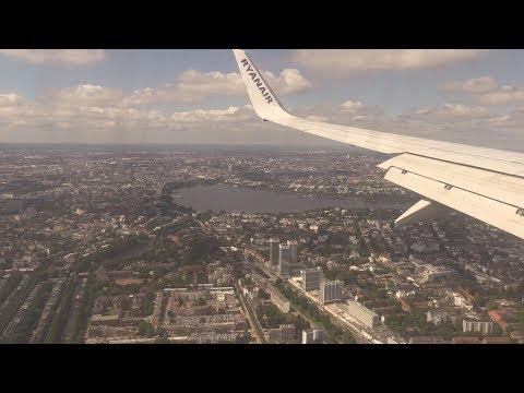 ᴴᴰ ✈ Hamburg City Approach / Landeanflug RWY33