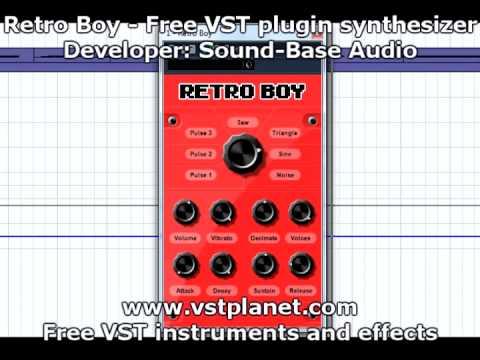 Retro Boy - Free VST plugin synthesizer - vstplanet.com