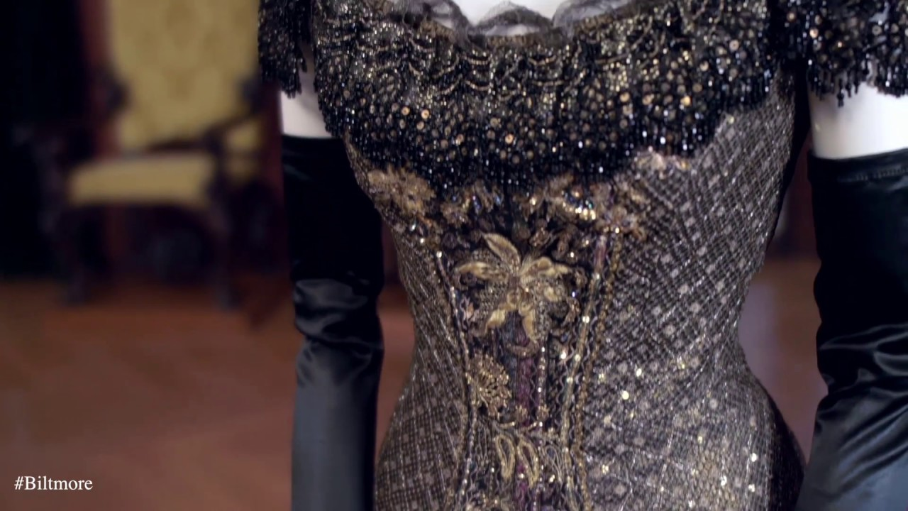 New Exhibition At Biltmore Designed For Drama Fashion From The Classics Youtube