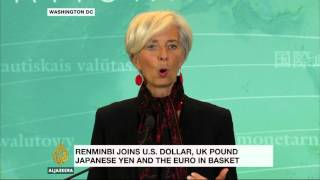 IMF approves China's yuan as reserve currency
