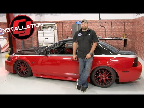 Mustang Air Lift Performance Complete Air Suspension Kit 1994-2004 Installation