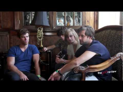 The Rubens - SXSW 2013 interview at The Aussie BBQ