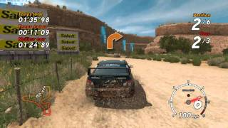 SEGA Rally - PC Gameplay - Full HD - Canyon Race (1)