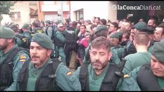 La Guàrdia Civil actua a Sarral l