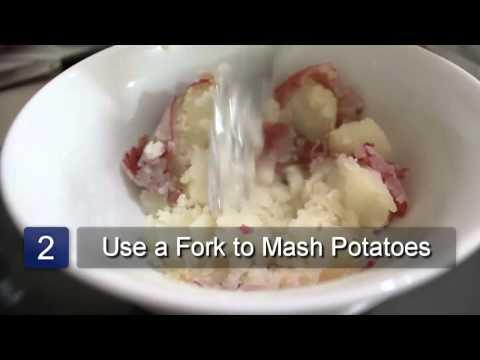 How To Mash Potatoes Without A Potato Masher