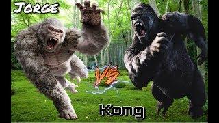 King Kong Vs Jorge De Rampage Rap Epicas Batallas De Rap Del Frikismo