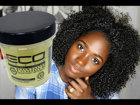 Experimenting: DRY WASH N GO with Jamaican Black Castor oil Flaxseed Gel