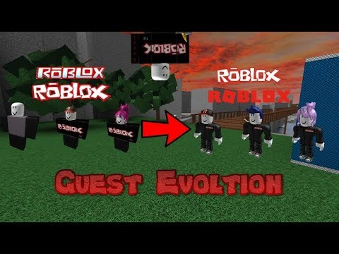 Roblox Guest Evolution 2006 2017 Youtube