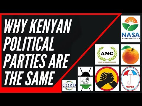 School of Revolution: Why Political Parties in Kenya are the Same: Lesson 05