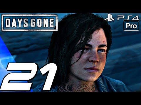 DAYS GONE - Gameplay Walkthrough Part 21 - Weaver's Polystyrene & Bike Chase (PS4 PRO)