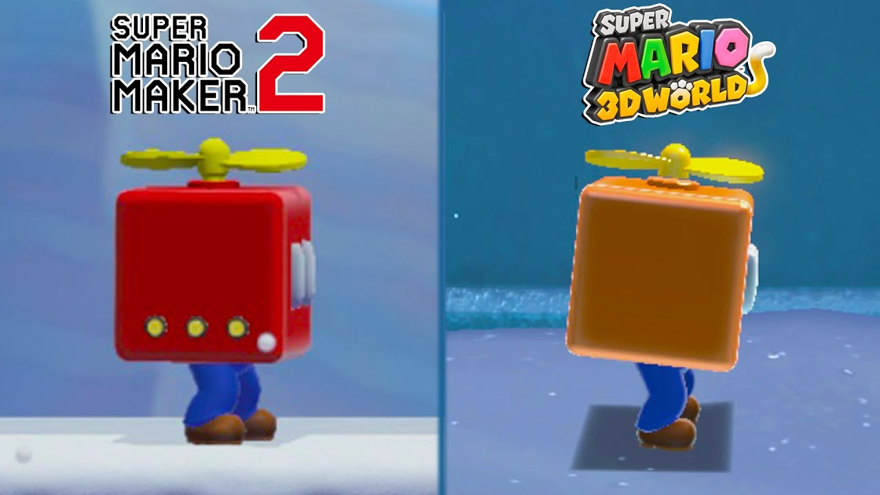 Download 25 Other Differences Between Super Mario 3D World and Super Mario Maker 2
