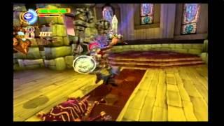 Maximo Vs. Army Of Zin walkthrough (PS2) level 3: No Sanctruary! (Mastered)