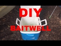 DIY baitwell live well cooler for fishing!!!