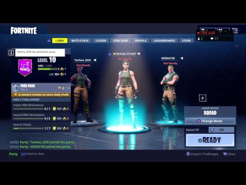 Fortnite *Brand New Map Update* Cant Wai W/Techno Money And RP Helper