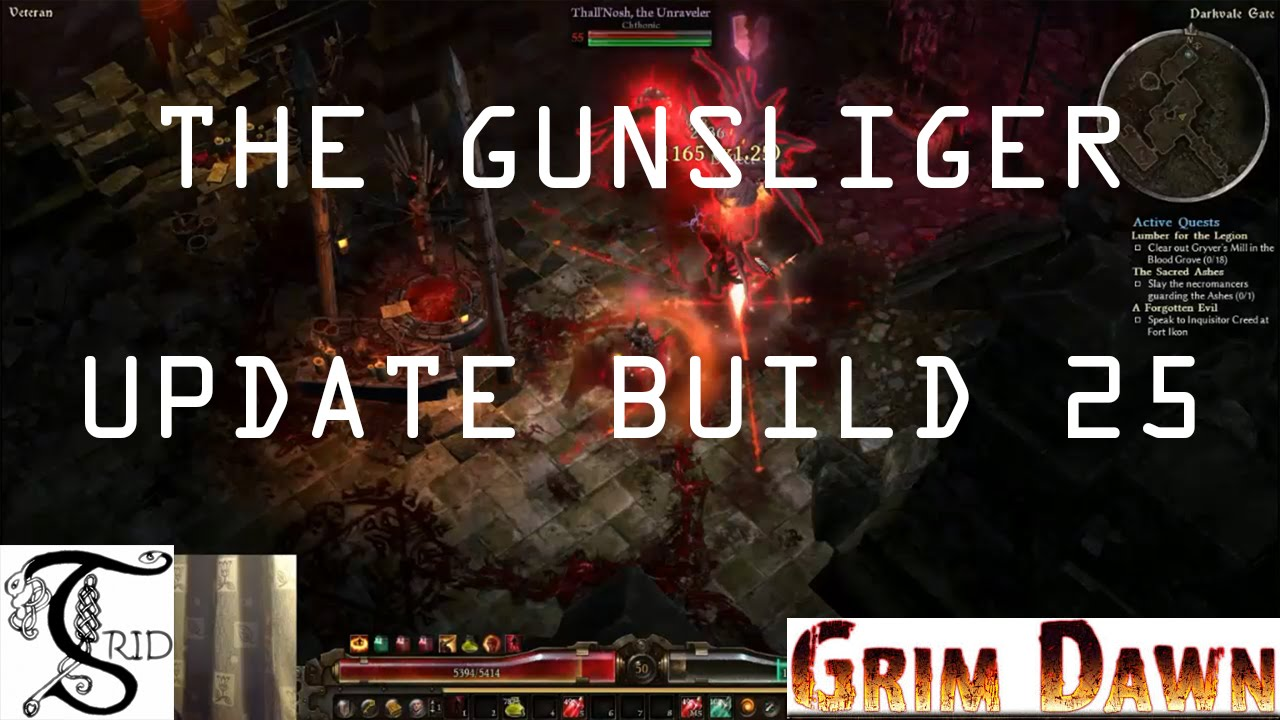 grim dawn gunslinger