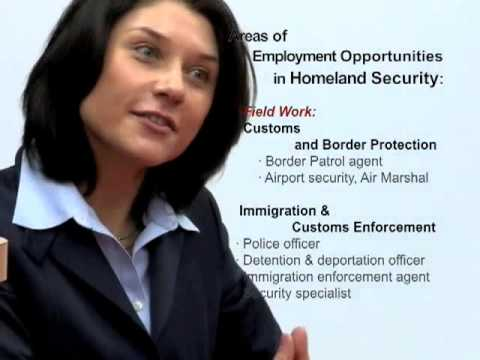 Career In Homeland Security Security Management