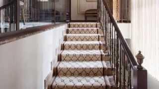 видео Ковролин для лестницы
