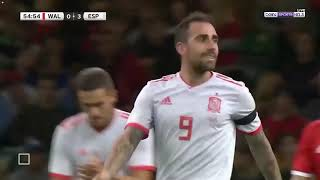 Suso Skills | Spain vs Wales 4-1 | 11/10/2018 HD