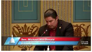 Sen. MacDonald remembers Sal Rocca