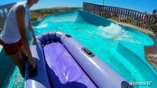 (POV) Barracuda Blaster Multi-Rider Tube water Slide - Raging Waters - Water Park