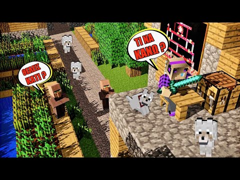 Βρήκα ένα Village και έχασα το σπίτι μου Minecraft Let's Play Kristina @Kristina Ekou