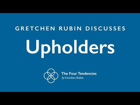 "Gretchen Rubin discussing ""Upholders"""