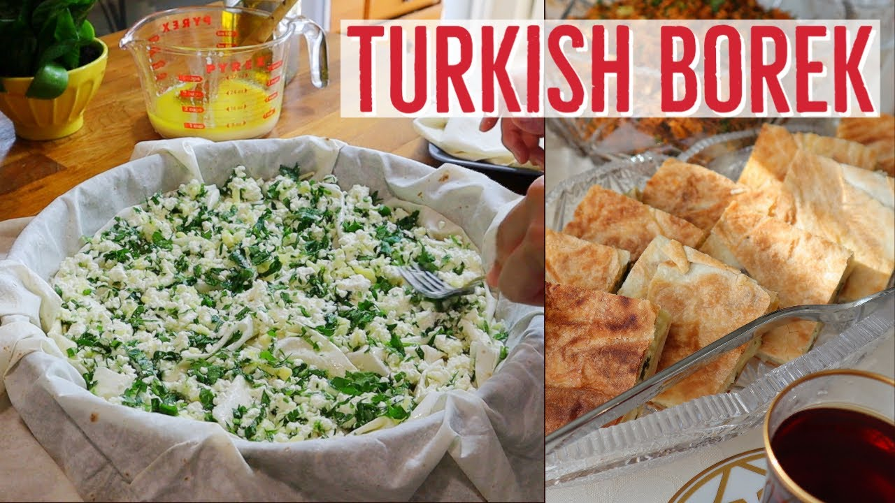 Turkish Borek With Cheese By Aysenur Altan