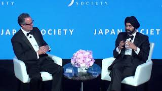 Japan Society 2018 Annual Dinner - Keynote Dialogue with Ajay Banga and Douglas Peterson