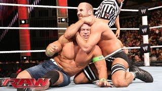 John Cena vs. Cesaro: Raw, Feb. 17, 2014